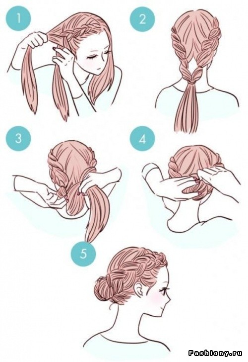 Как делать рисунки на причёски