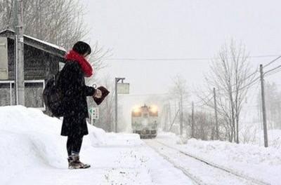 В Японии железнодорожная станция работает ради одного пассажира
