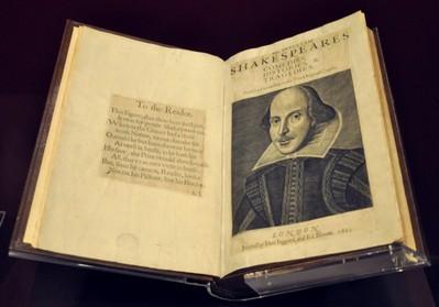 Нашли первый сборник пьес Шекспира