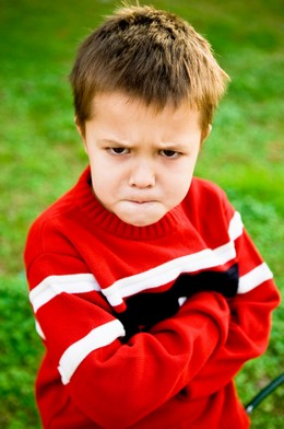 Учим ребенка злиться правильно
