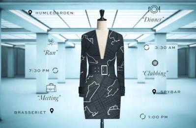 Coded Couture: платье, созданное с помощью ваших персональных данных