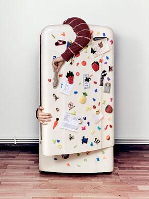 Магнитные шедевры на холодильнике