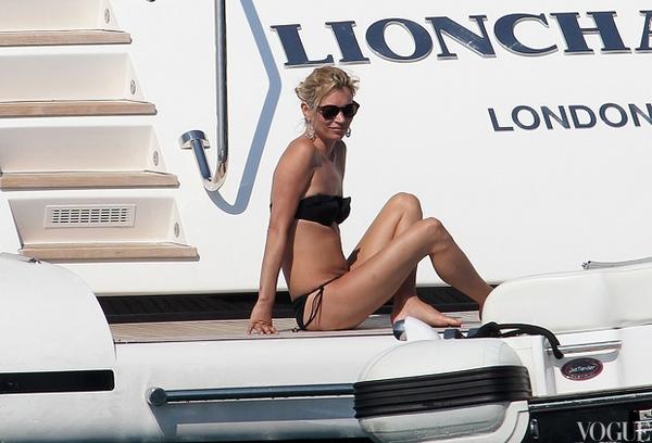 Медовый месяц Кейт Мосс