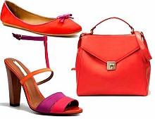Тренды лета 2011 – яркая обувь и сумки