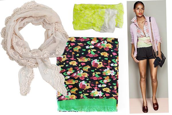 4 новых способа носить платок