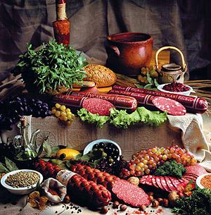 Новогодний стол: вкусно и полезно