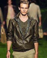 Мужские кожаные куртки весна-лето 2011