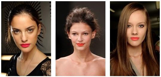 Тенденции летнего макияжа 2011