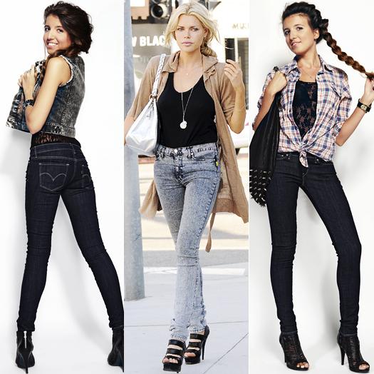 Модные джинсы весна-лето 2011