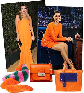 Оранжевый – самый модный цвет