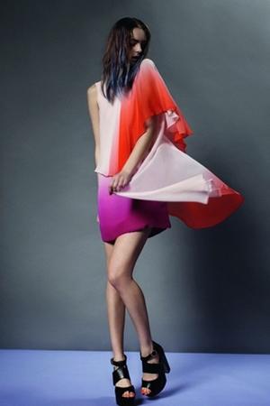 Нестандартные стили 2011 от Topshop