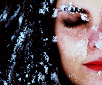 Зимний макияж 2010