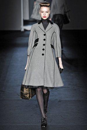 Модное пальто 2010