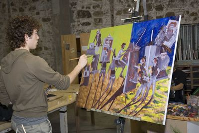 Где учиться искусству?