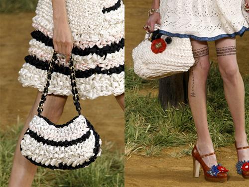 Вязаные сумки: стильный аксессуар