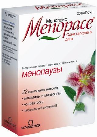 Менопейс - менопауза без проблем!