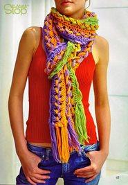 Искусство носить шарфы