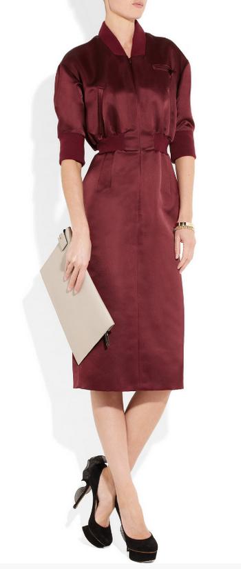 Бордо - модный цвет осени 2012