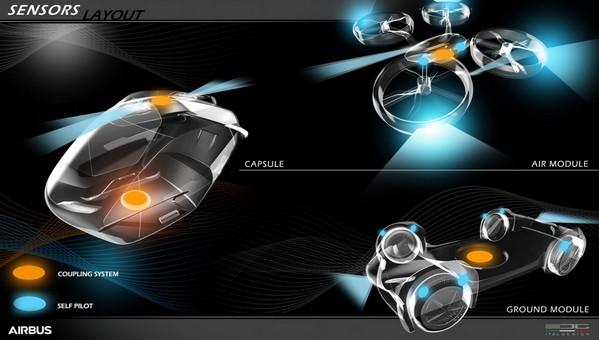 В Швейцарии представили летающий автомобиль