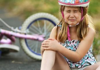 Что делать, если ребёнок поранился?