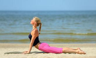 Фитнес на пляже: стройное лето!