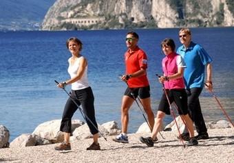 Интересный фитнес: скандинавская ходьба