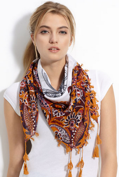Как красиво завязать шарф на шее (видеоуроки)