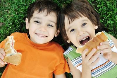 Здоровые детские снэки