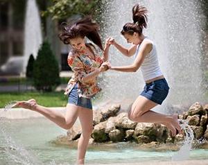 Как спастись от жары в городе?