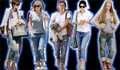 Джинсовая мода 2009