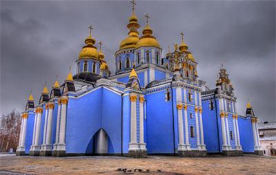 Михайловский златоверхий монастырь (Украина)