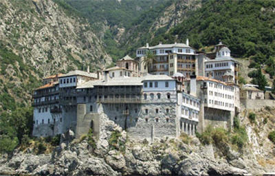 монастырь Григориат (Греция)