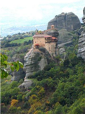 монастырь Метеора (Греция)