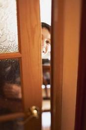 """Дверь в спальню: """"застукали""""…"""