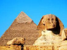 По Египту, встречая инопланетян и сфинксов