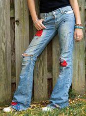 Все о джинсовых переделках