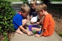 Игры с малышами на свежем воздухе