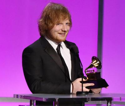 Grammy за лучшую песню года получил британец Эд Ширан